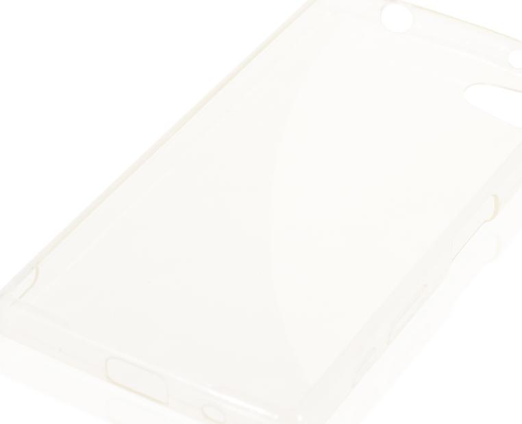 Чехол Brosco TPU для Sony Xperia Z5 Compact, прозрачный аксессуар чехол sony xperia z5 compact z5 mini cojess silicone tpu white mate