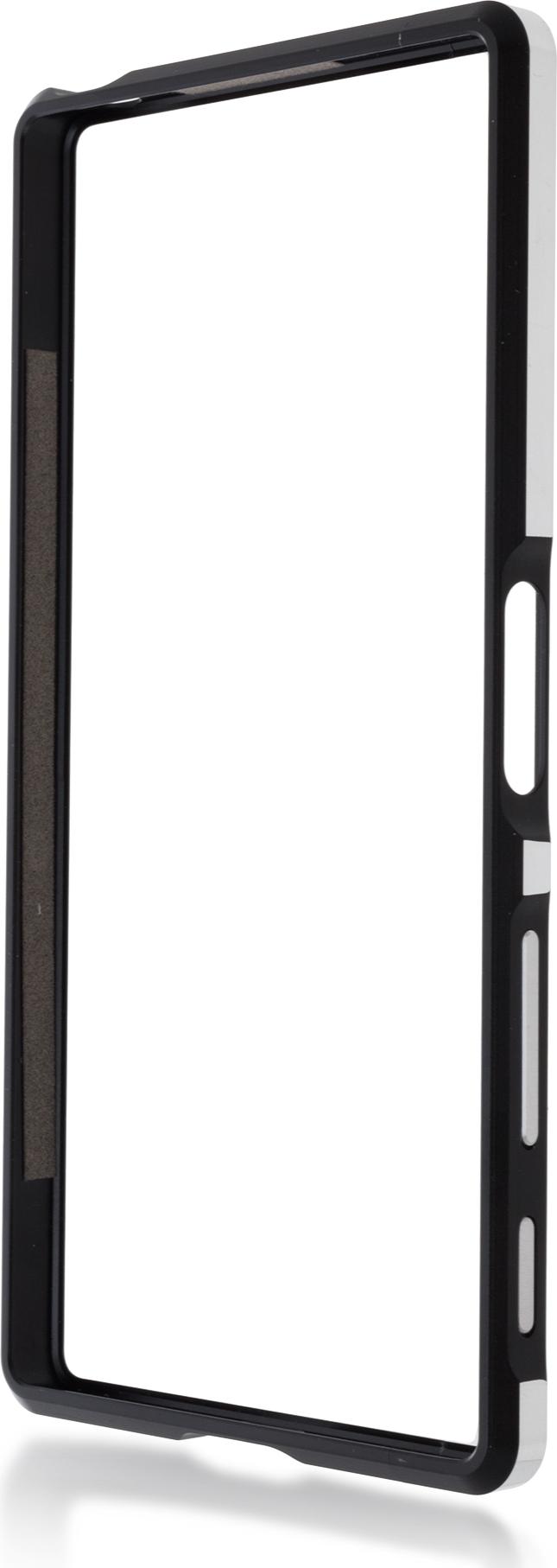 Чехол Brosco BMP для Sony Xperia Z5 Premium, черный стоимость
