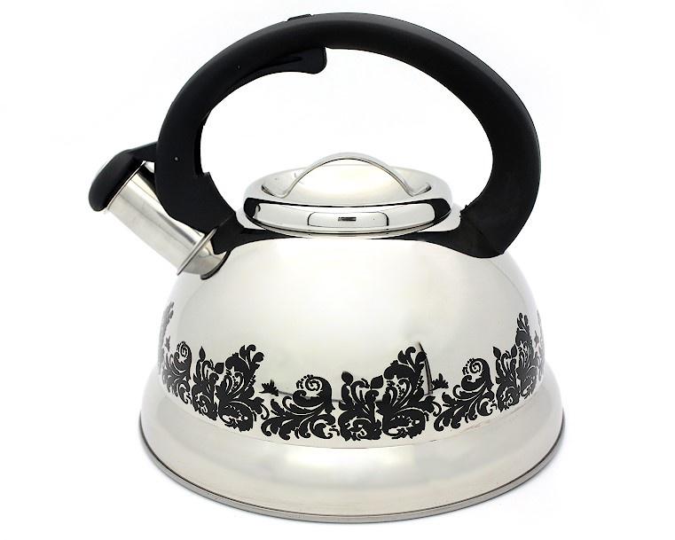 Чайник Катунь КТ-109, КТ-109, серебристый чайник катунь кт 106f бирюзовый 2 5 л нержавеющая сталь