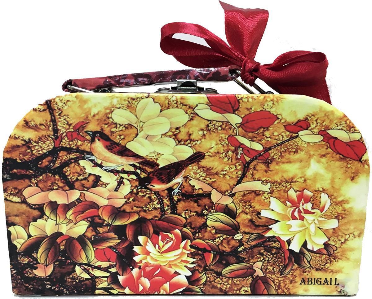 Чай листовой ABIGAIL Пейзаж с птицами, в кейсе, 85 г чай в подарочной упаковке peroni молочный улун