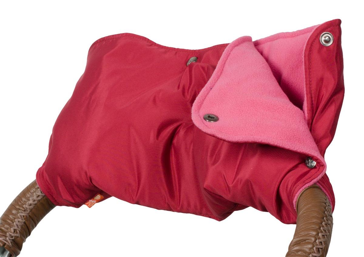 Аксессуар для колясок Чудо-чадо Муфта для рук на коляску флисовая (кнопки), МКФ11-000 аксессуары для колясок и автокресел виталфарм муфта для рук на коляску
