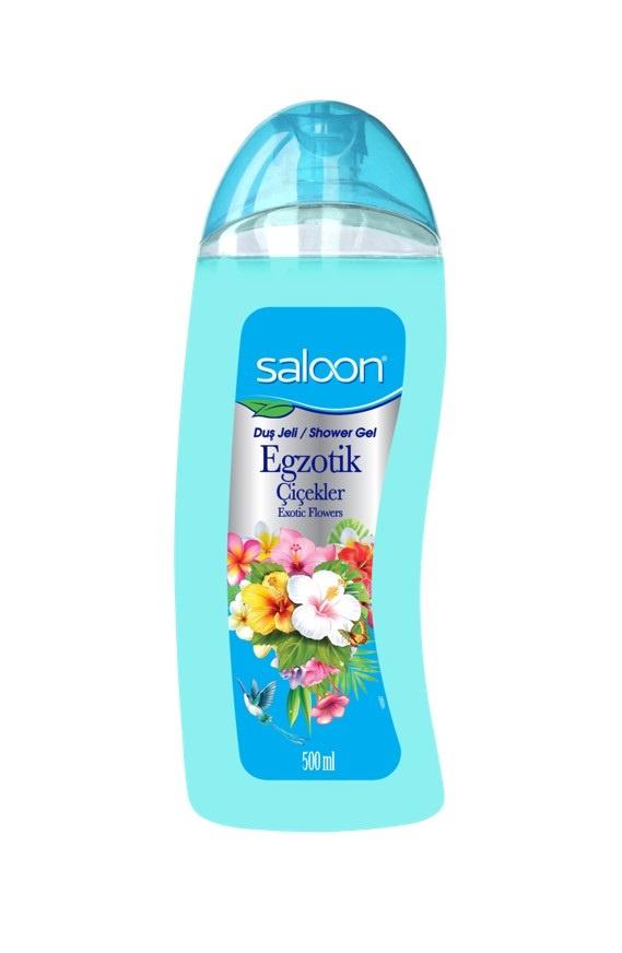 Гель для душа Saloon Экзотические цветы