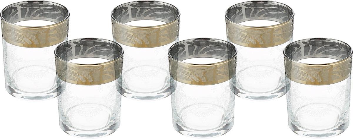 Набор стаканов для виски Гусь-Хрустальный Мускат, GE05-405, 255 мл, 6 шт набор стаканов гусь хрустальный веточка 350 мл 6 шт