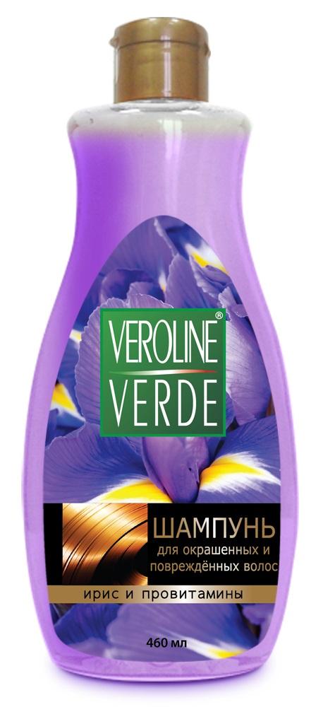 Шампунь для волос VEROLINE VERDE Ирис и провитамины для волос цена в Москве и Питере