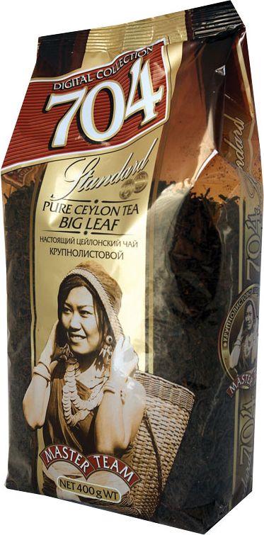 Чай Мастер Тим 704, черный, крупный лист, 400 г чай черный байховый бонтон крепкий цейлонский крупнолистовой 726 с ароматом бергамота 100 г