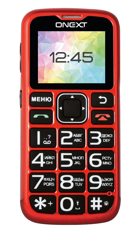 Мобильный телефон Onext Care-Phone 5 с большими кнопками, 71128 мобильный телефон onext care phone 6 белый