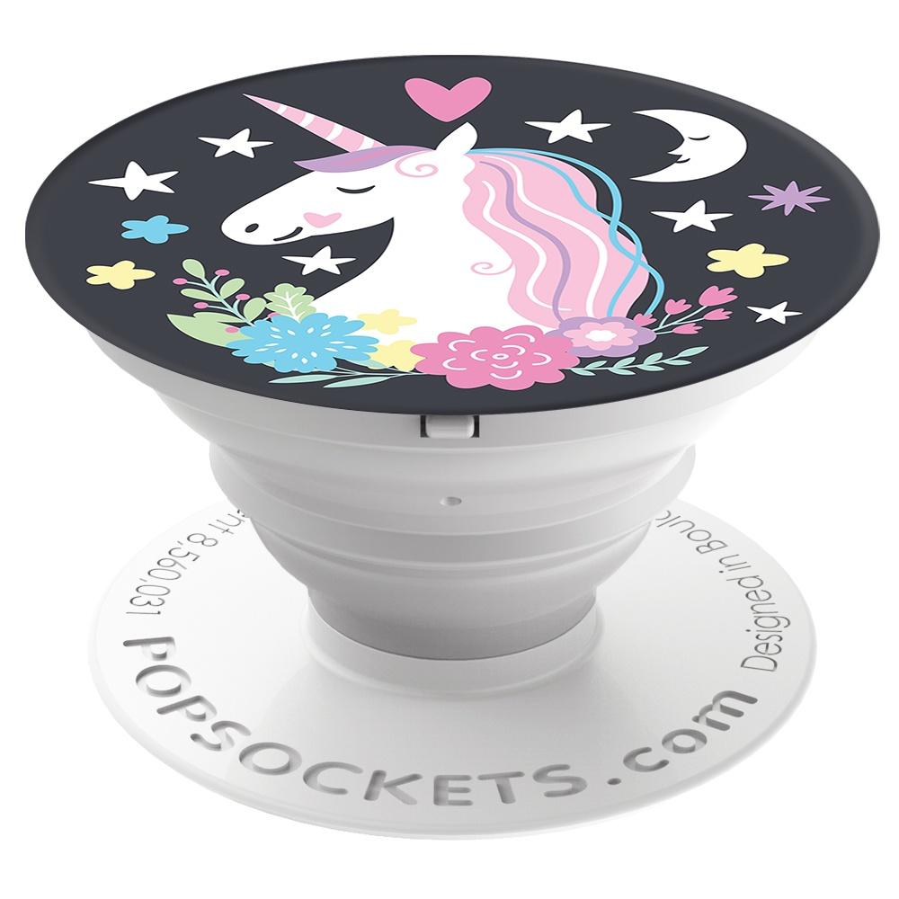 Кольцо-держатель для телефона PopSockets 800025 (Unicorn Dreams), 800025 держатель для телефона popsockets 800329 glttr starry dreams lvndr