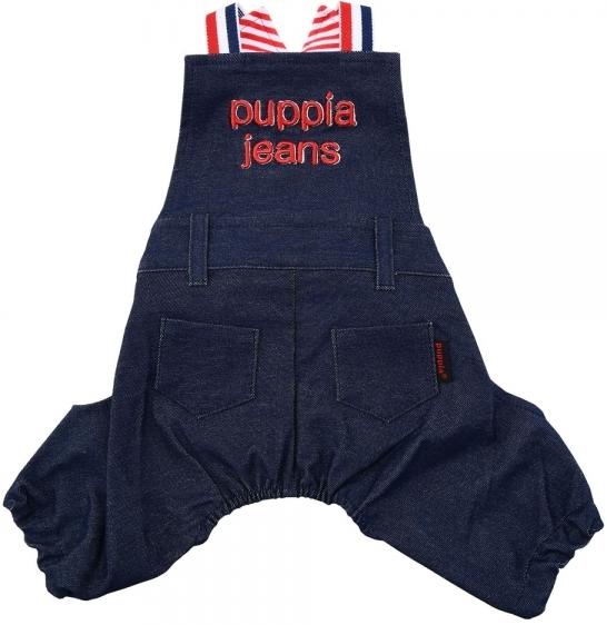 Одежда для собак Puppia (Южная Корея) PETE PASA-PA1612-NY-M, синий