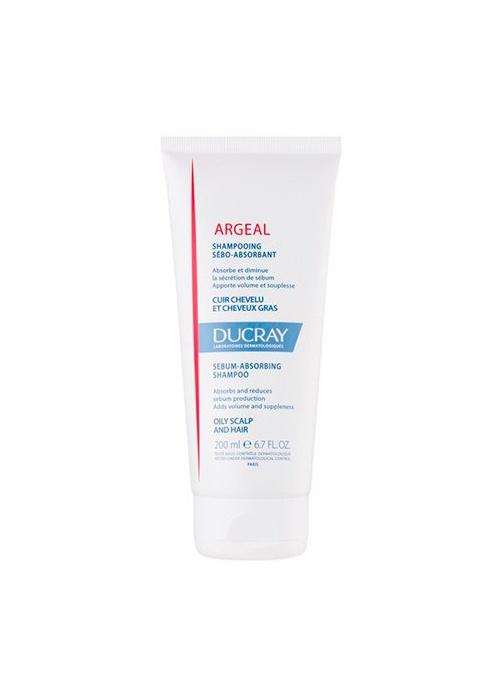 Шампунь для волос Ducray Argeal, себоабсорбирующий, для жирных волос для волос ducray