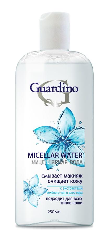 Вода мицеллярная GUARDINO 250МЛ GUARDINO