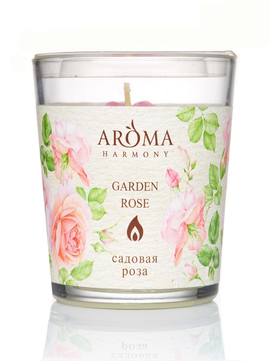 Свеча ароматическая Садовая роза, 160 гр свеча медитация aroma naturals