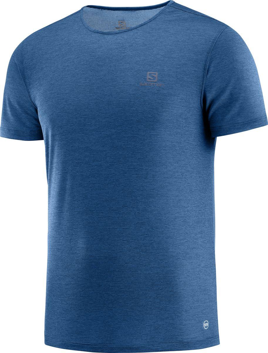 Футболка Salomon Cosmic Crew Ss футболка мужская salomon cosmic crew ss tee m цвет бирюзовый l40094500 размер xxl 54