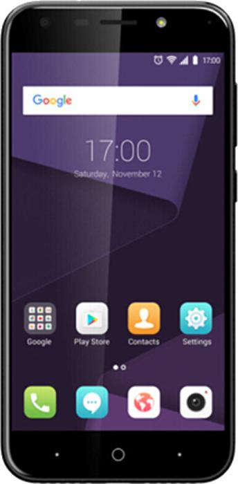 Смартфон ZTE Blade A622 3/32GB, черный смартфон zte blade a 476 чёрный