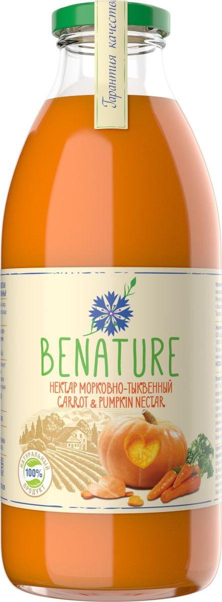 Фото - Нектар BeNature морковно-тыквенный, 730 мл нектар benature морковно яблочный 730 мл