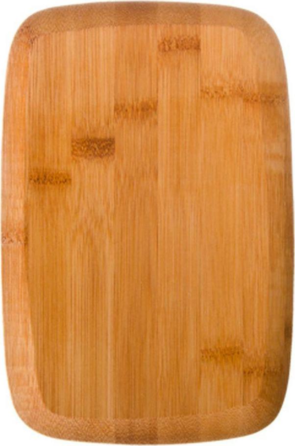 Разделочная доска Vetta Гринвуд, 851133, коричневый, 23 х 15 х 1 см851133Прямоугольная деревянная разделочная доска — универсальный помощник на кухне, который «подставит вам плечо» в нужный момент. Нарезка фруктов, шинкование овощей, разделка рыбы и птицы — на прямоугольной разделочной доске из дерева легко выполняются любые кулинарные задания. Гигиеничный материал обладает природными антимикробными свойствами и высокой прочностью. Натуральное дерево не тупит ножи, не скользит на поверхности стола и предотвращает скольжение продуктов. После использования аксессуар достаточно сполоснуть теплой водой и высушить в вертикальном положении.