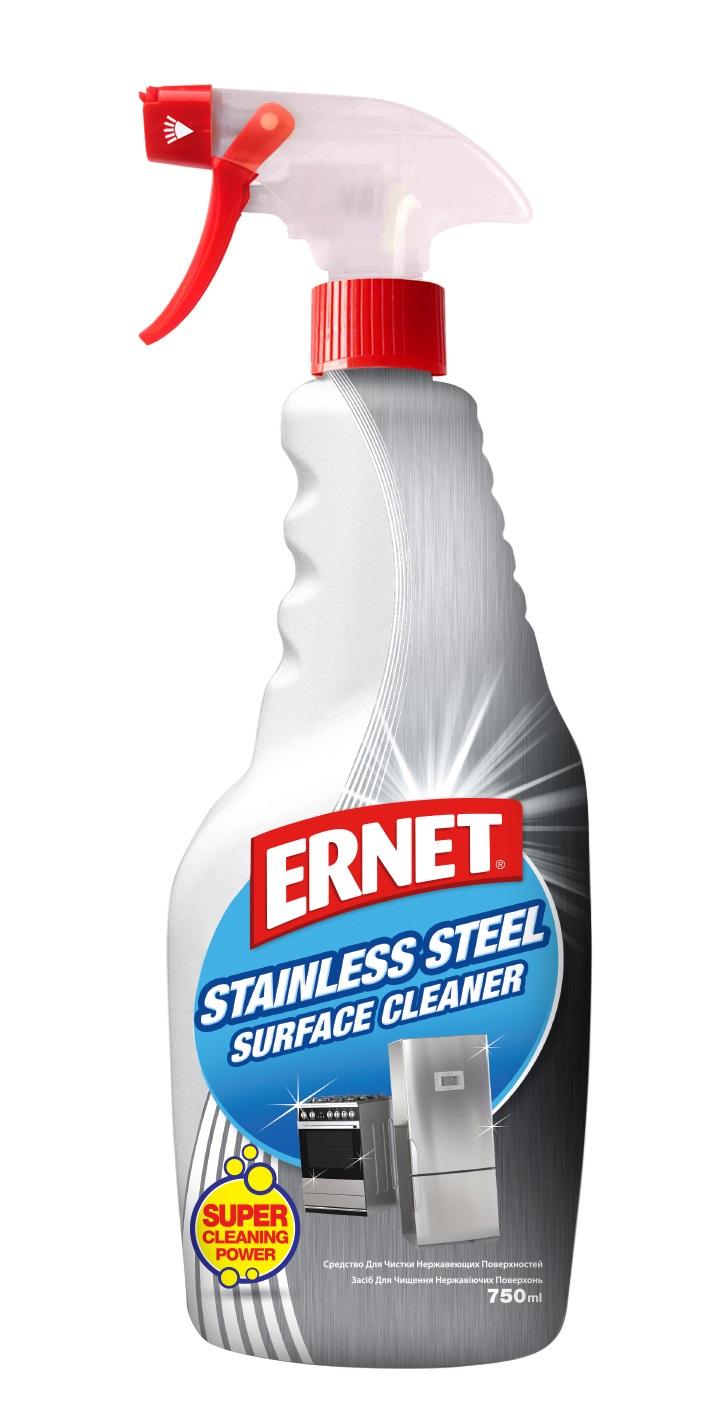 Средство для кухни Ernet Средство для чистки нержавеющей поверхности
