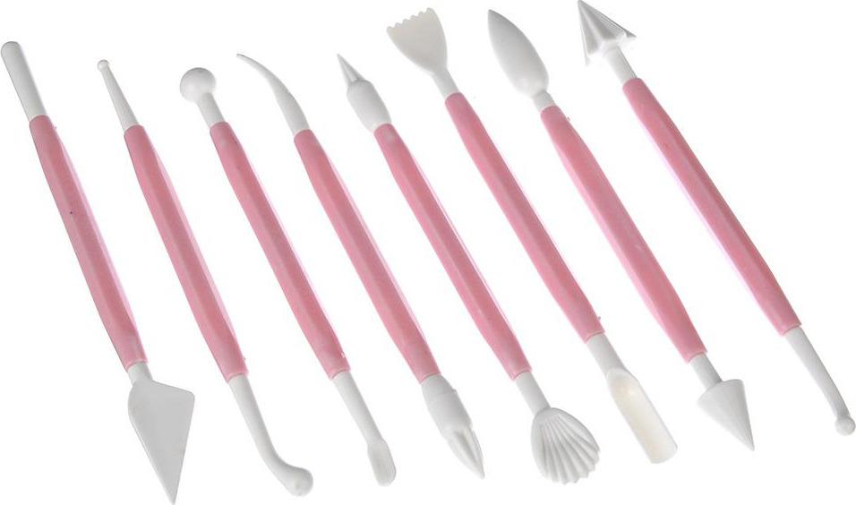Набор кулинарный N/N, 884120, цвет в ассортименте, 8 предметов набор кулинарный n n 856034 белый 6 предметов