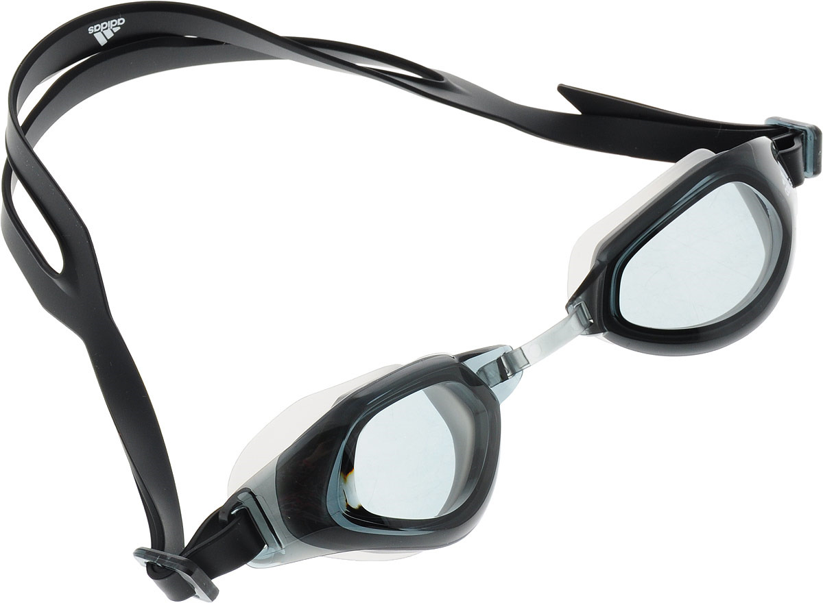Очки для плавания Adidas Persistar Fit Unmirrored, BR1059, черный, размер M arena импортные плавательные очки противотуманные большие рамочные очки водонепроницаемые