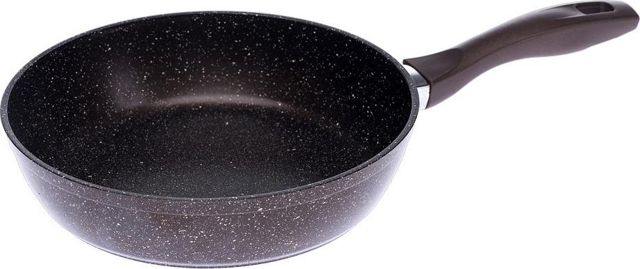 Жаровня кухонная Гардарика, с антипригарным покрытием, 2 литыми ручками, 0926-03, диаметр 26 см