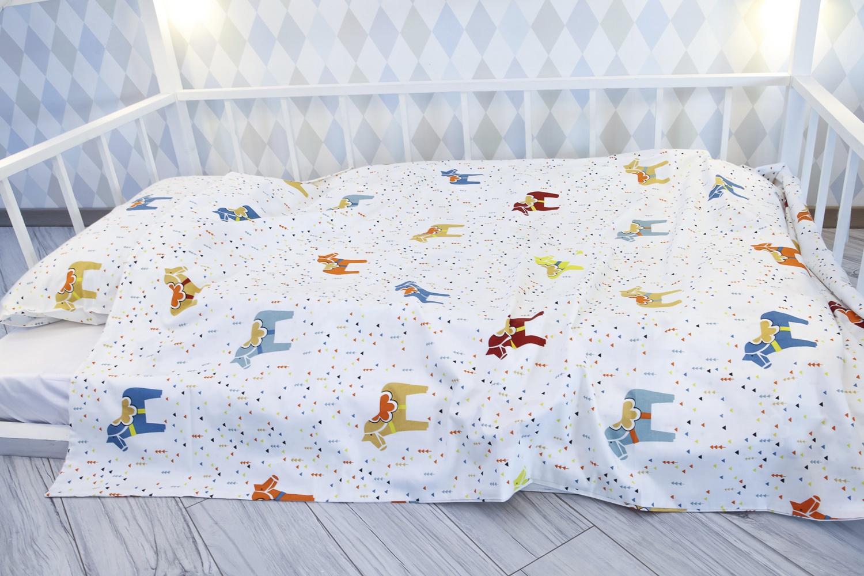 Детский комплект постельного белья Уютная История Детский с принтом, KARDET
