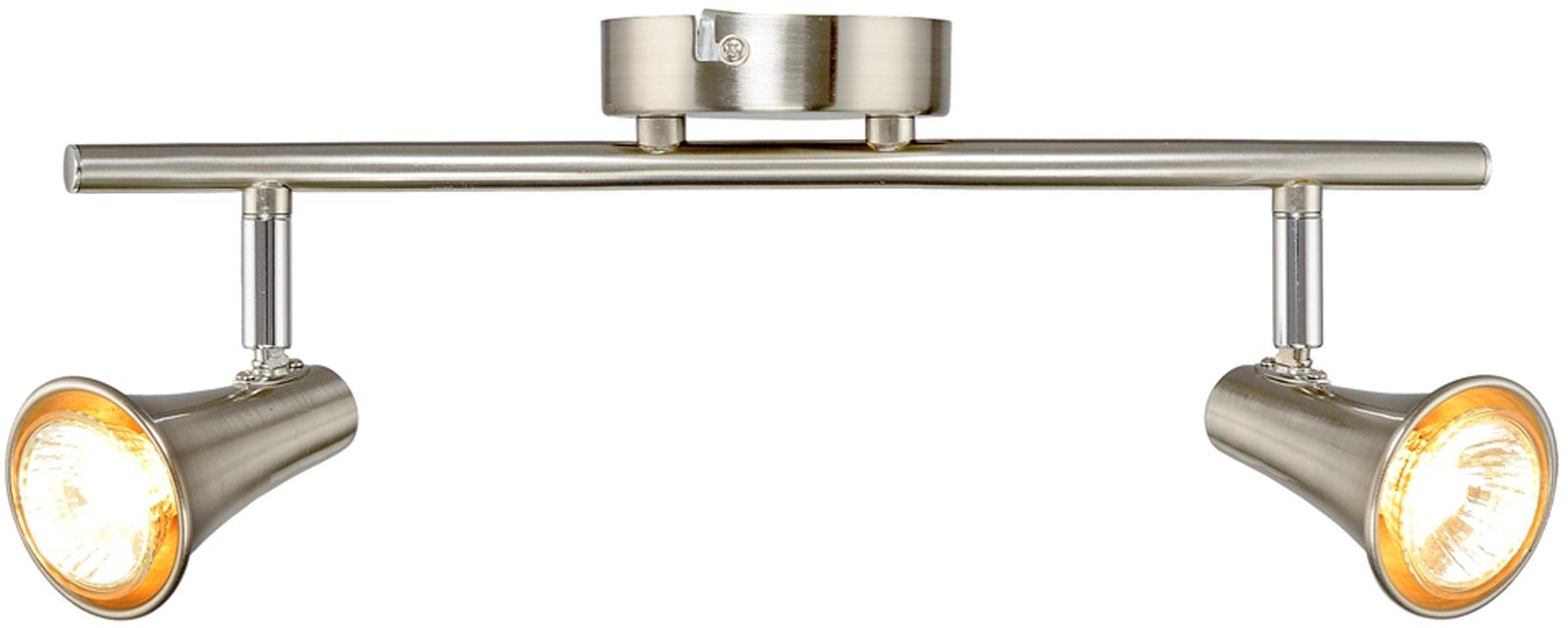 Настенно-потолочный светильник МАКСИСВЕТ 4650, 6-4650-2-ST GU10, 365*90*115 максисвет потолочная люстра максисвет design геометрия 1 1696 4 cr y led