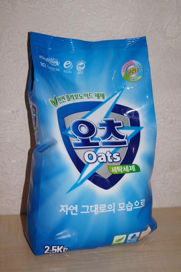 Стиральный порошок OATS Для стирки детской одежды и нижнего белья, 778-721402, белый, 2,5