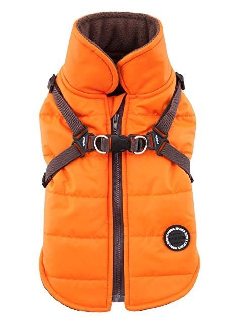 Одежда для собак Puppia (Южная Корея) MOUNTAINEER II PAPD-VT1366-OR-L
