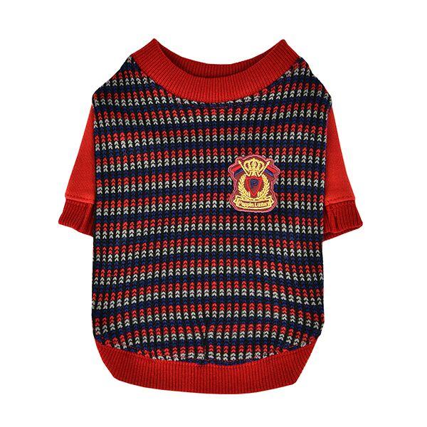 Одежда для собак Puppia (Южная Корея) ELLIOTT PASD-TS1650-WN-L, красный