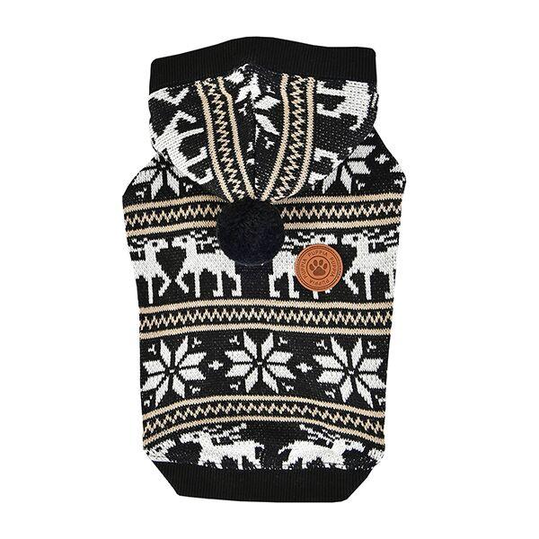 Одежда для собак Puppia (Южная Корея) PRANCER PASD-TS1655-BK-M, черный