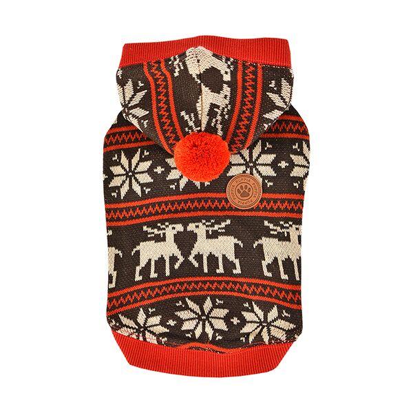 Одежда для собак Puppia (Южная Корея) PRANCER PASD-TS1655-BR-S, коричневый