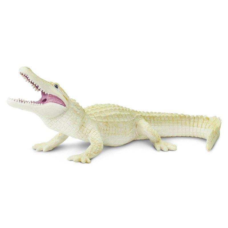Фигурка Safari Ltd Американский аллигатор-альбинос недорго, оригинальная цена
