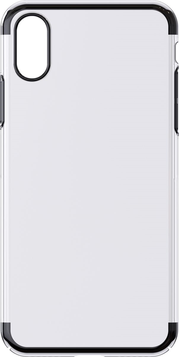 Чехол для сотового телефона Interstep Is Decor ADV для Apple iPhone XS, HDC-IPH5818K-NP1101O-K400, черный чехол для сотового телефона interstep armore для nokia 3 black harno00003knp1101ok100