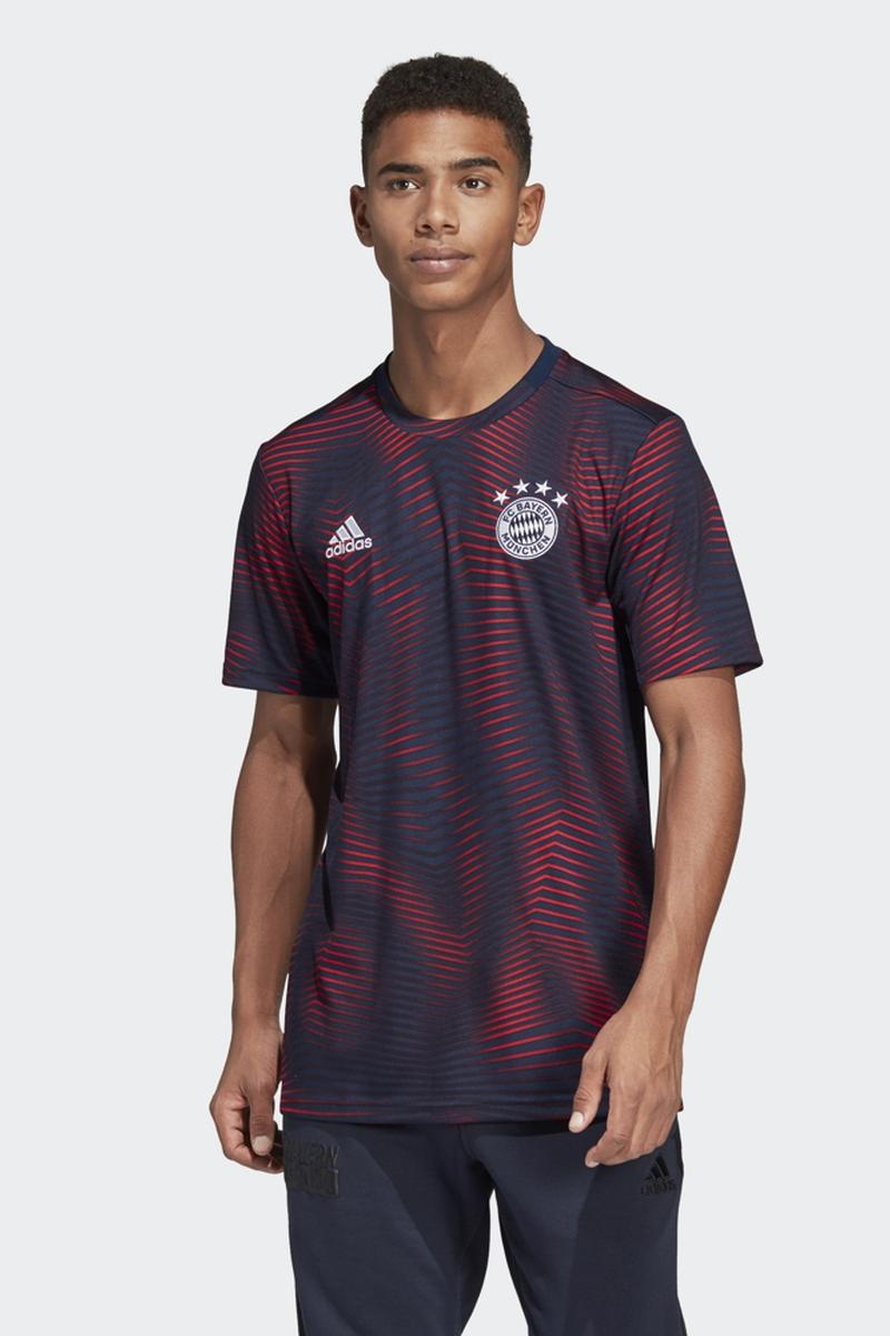 купить Футболка adidas Fcb H Preshi по цене 3000 рублей