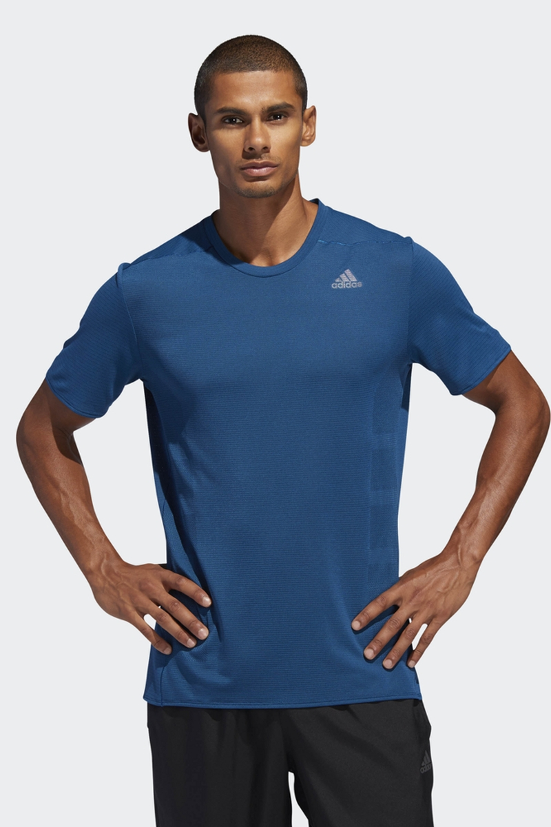 Футболка adidas Supernova Tee футболка мужская adidas ascend tee цвет серый dw5633 размер xl 56 58
