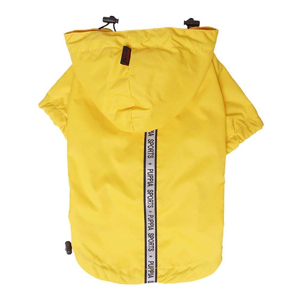 Одежда для собак Puppia (Южная Корея) BASE JUMPER PEAF-RM03-YE-L, желтый