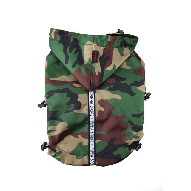 Одежда для собак Puppia (Южная Корея) BASE JUMPER PEAF-RM03-CA-S, темно-зеленый
