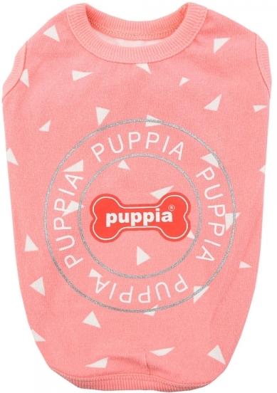 "Футболка для собак Puppia ""SIMON"", розовая, S (Южная Корея)"