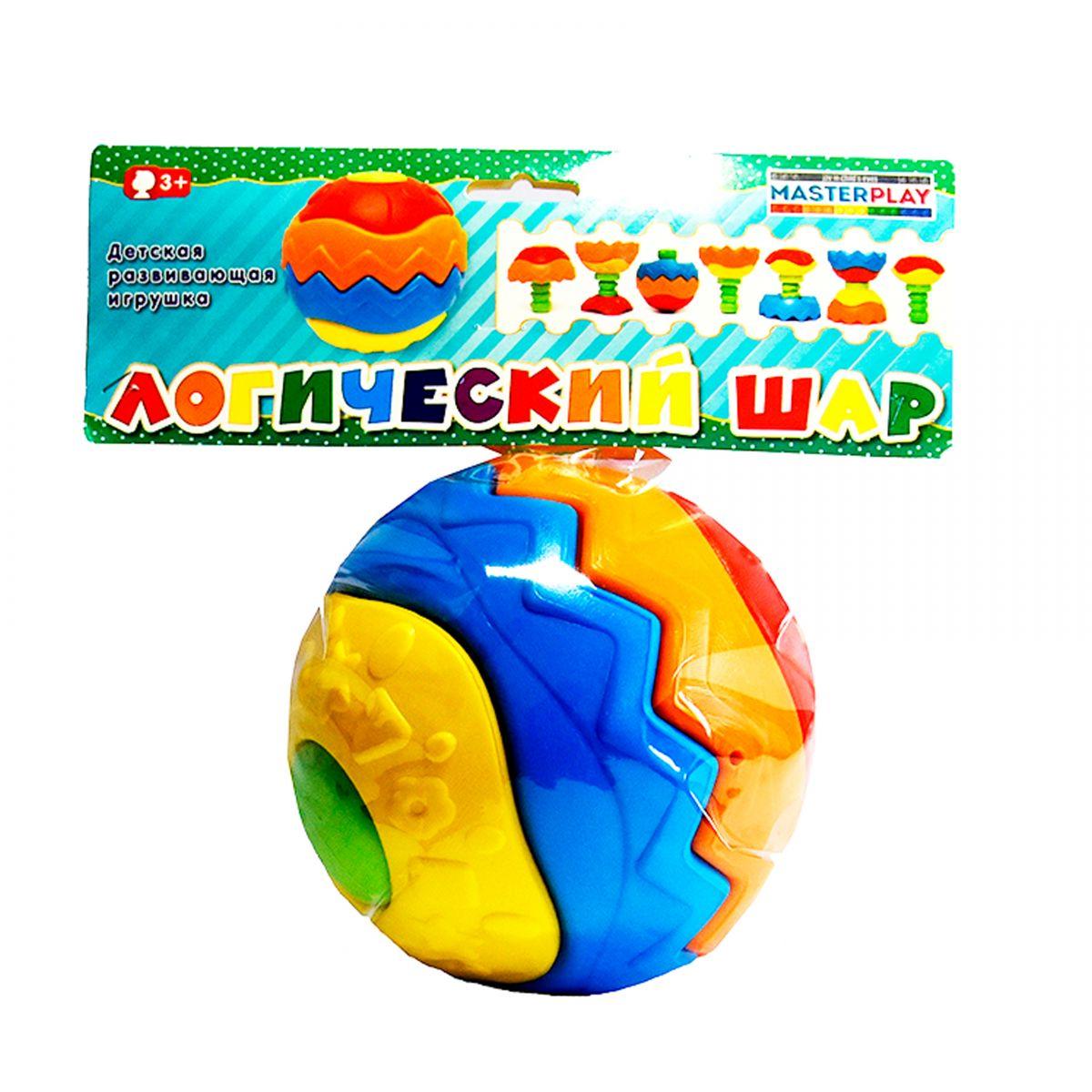 Детский логический шар игрушка развивающая логический квадрат артикул д020