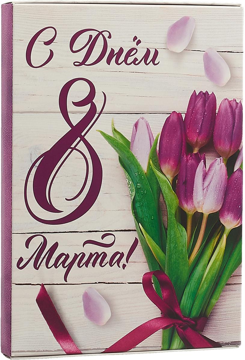 Ежедневник С днём 8 марта, 3732459, полудатированный, 80 листов ежедневник лайф квест 80 листов zk48