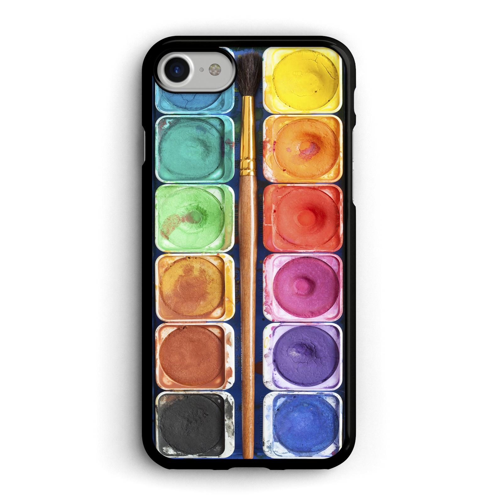 Чехол для сотового телефона Boom Case Чехол для iPhone 7 / 8 Акварель с кисточкой, IP8.CASE-42 case scenario чехол