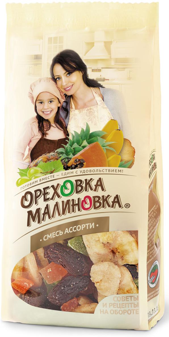 Ореховка-Малиновка смесьассорти,190 г