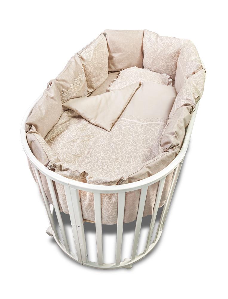 Комплект белья для новорожденных Сонный гномик Версаль