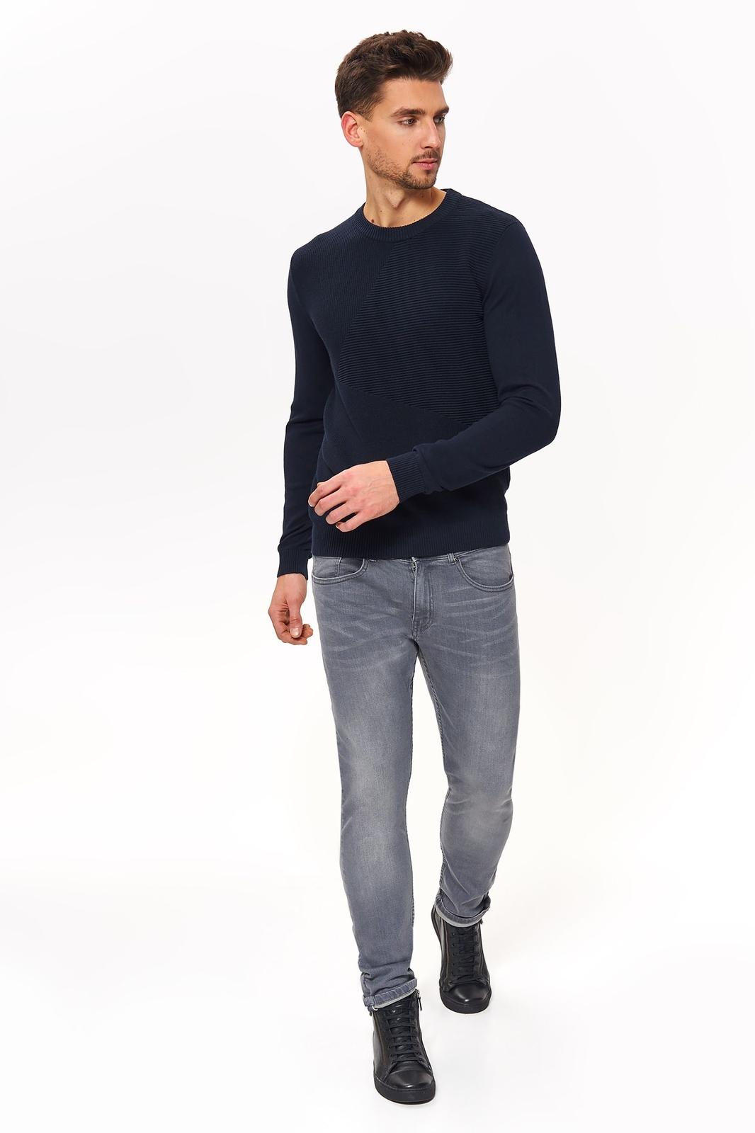 Свитер мужской Top Secret, цвет: темно-синий. SSW2591GR. Размер L (48)SSW2591GR