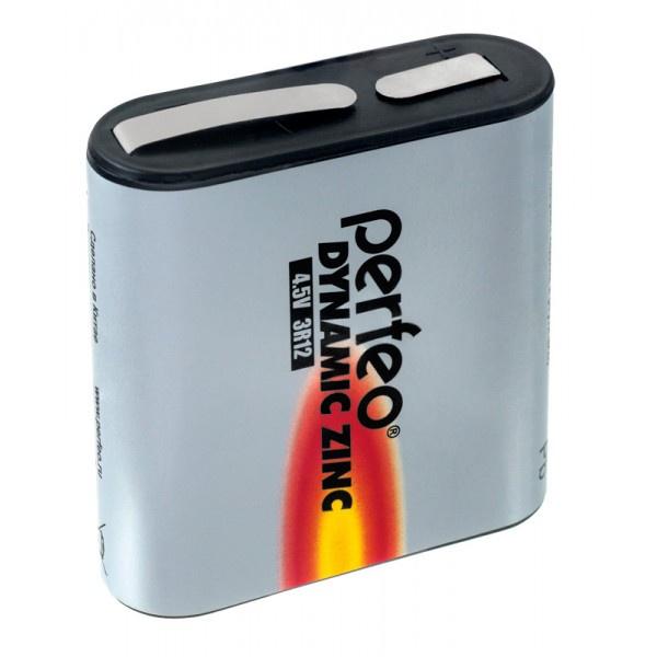 Батарейка Perfeo Солевая, PF 3R12/1SH батарейка perfeo r6 4sh dynamic zinc 4 штуки