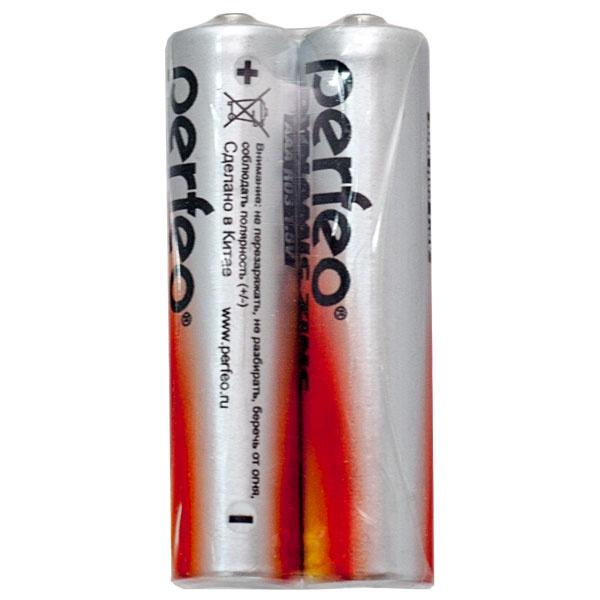 Батарейка Perfeo Солевая, PF R03/2SH батарейка perfeo r6 4sh dynamic zinc 4 штуки