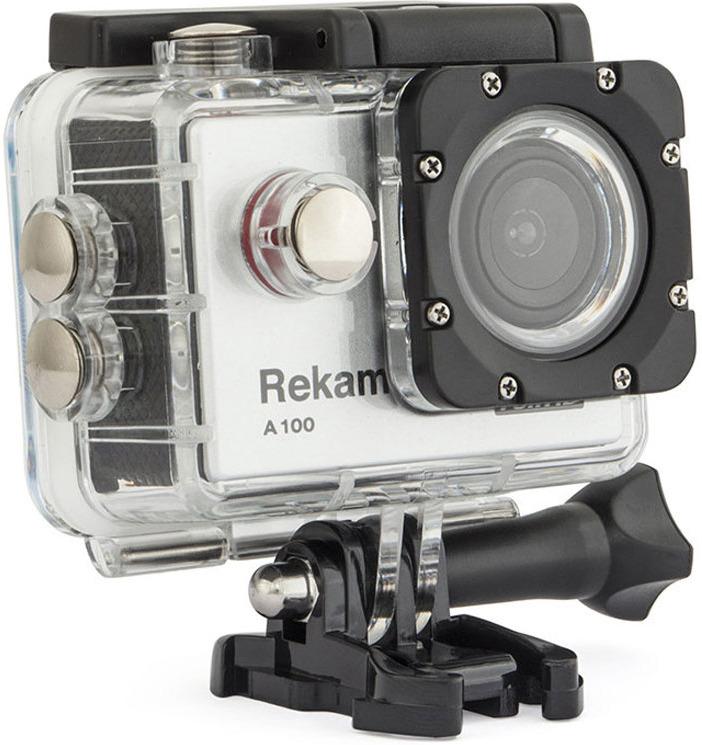 Rekam A100, Silver цифровая экшн-камера цена и фото