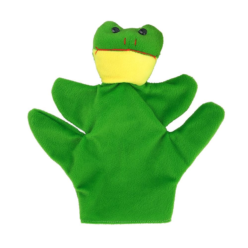 Мягкая игрушка FindusToys Кукла на руку Бибабо-театр, лягушонок, FD-02-033/Зеленый бластер для девочки findustoys blaze storm fd 08 015 белый черный розовый