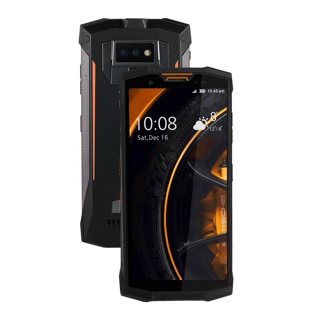 цена на Смартфон Doogee RUD001-268548.02, оранжевый, чёрный