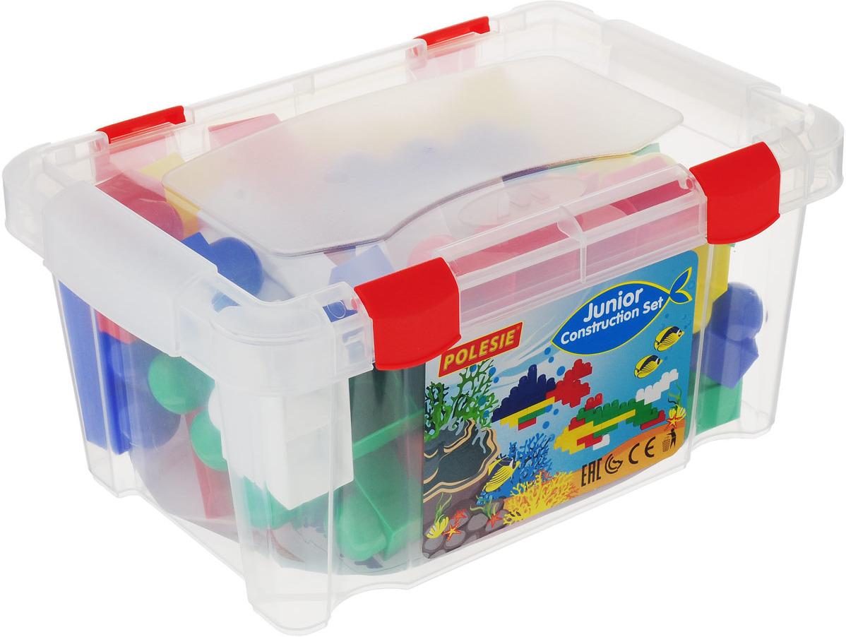 """Конструктор 50496 """"Юниор"""", 54 элемента, в контейнере, цвет в ассортименте"""