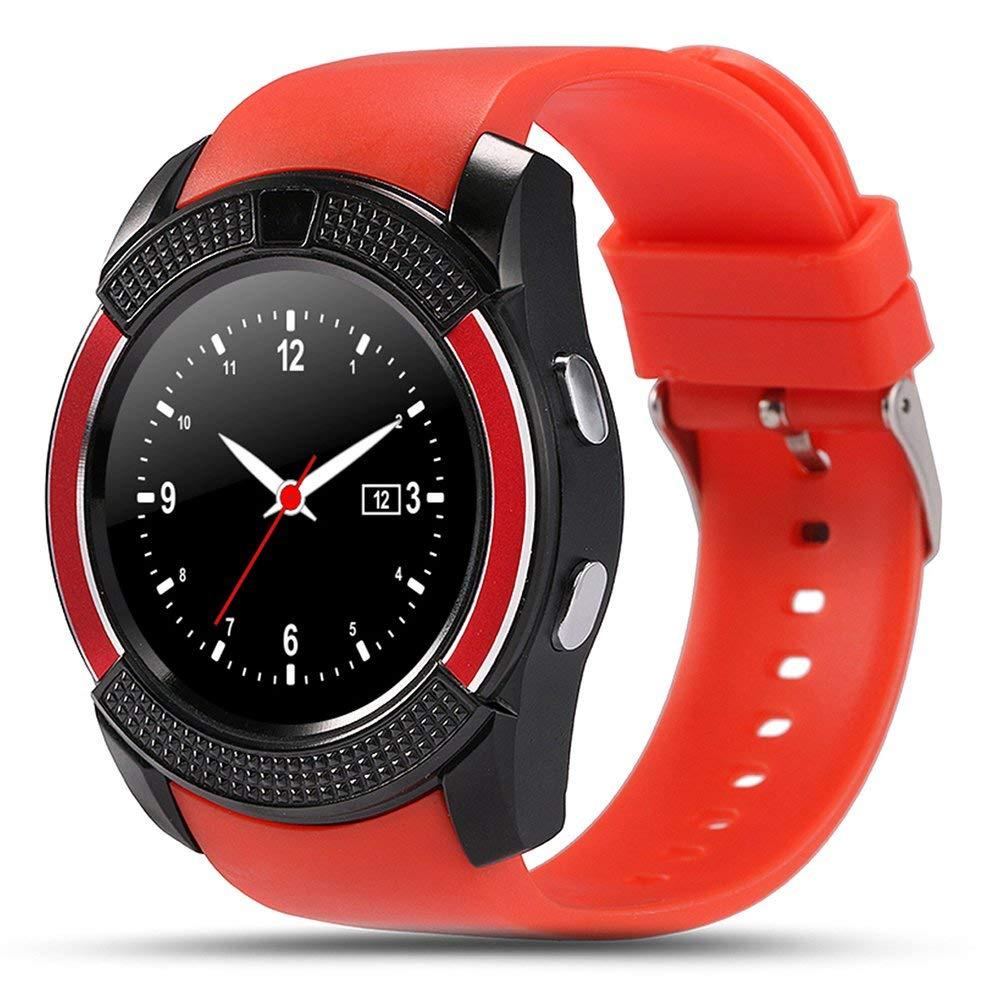 лучшая цена Умные часы ZDK V8 red, красный